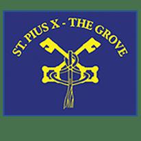 St. Pius X - The Grove logo